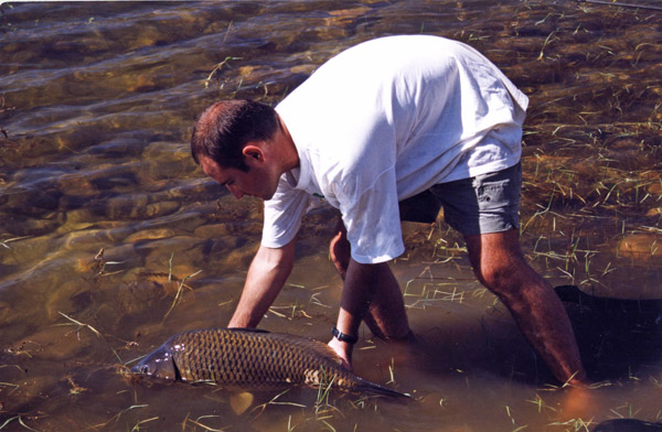 Embalse de El Chorro – pesca deportiva carpfishing