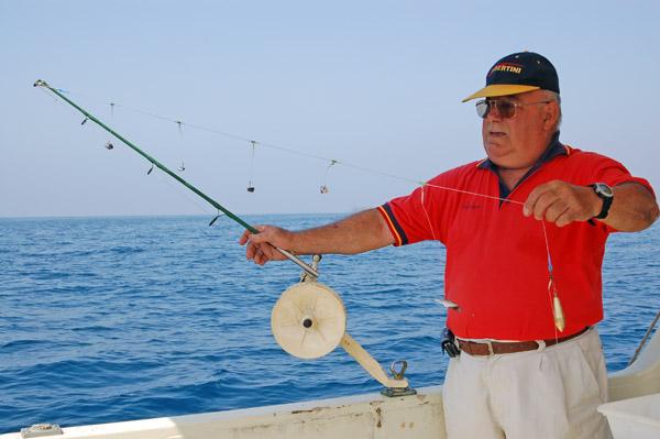 Desde embarcación en Almería