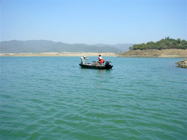 Embalse de La Breña – pesca deportiva black bass