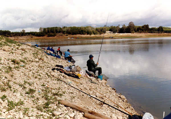Embalse de Retortillo – pesca deportiva al coup
