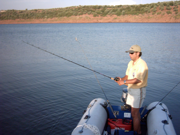 Embalse de Yeguas – pesca deportiva black bass