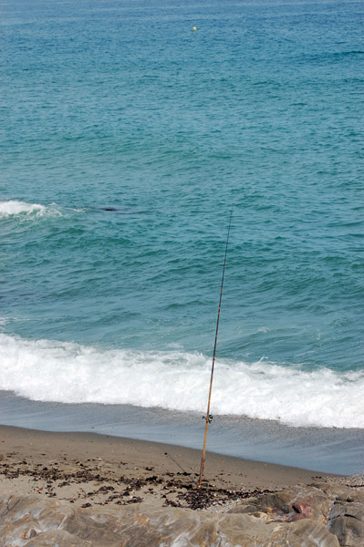 Playa de Chilches – pesca desde costa surfcasting