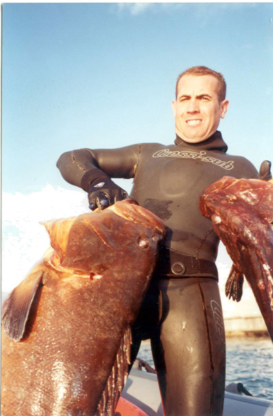 Punta de la Mona – pesca submarina