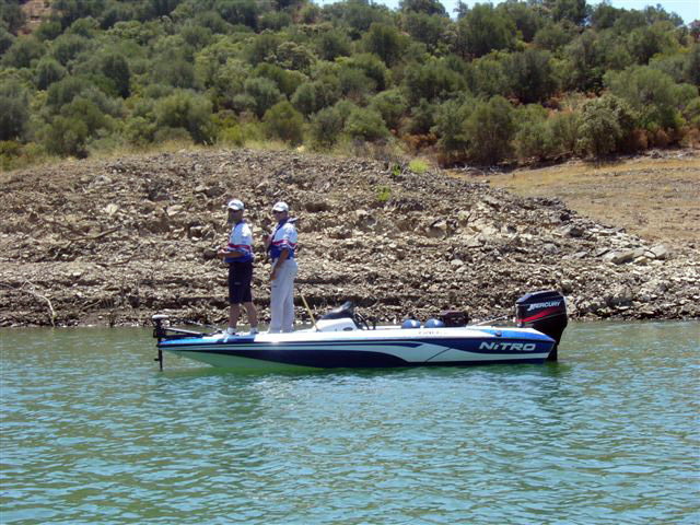 Embalse de Guadalmellato – pesca deportiva black bass