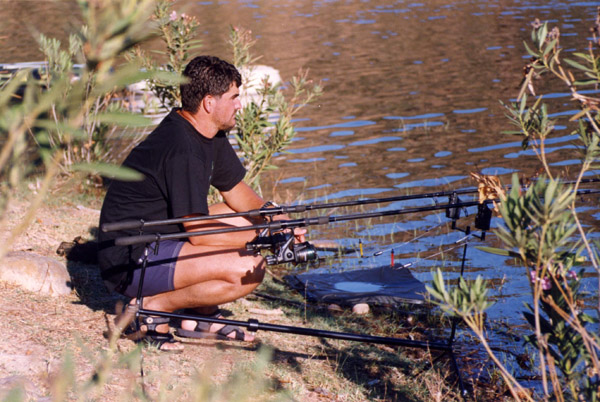 Embalse de Béznar – pesca deportiva carpfishing